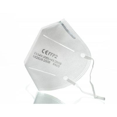 FFP2 åndedrætsværn - mundbeskyttelse - ansigtsmaske (5 stk)