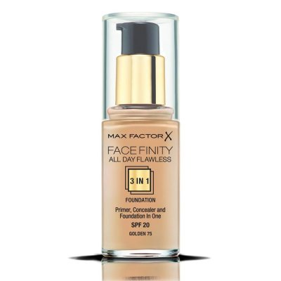Max Factor Facefinity All Day Flawless 3 In 1 Foundation 75 Golden 30ml